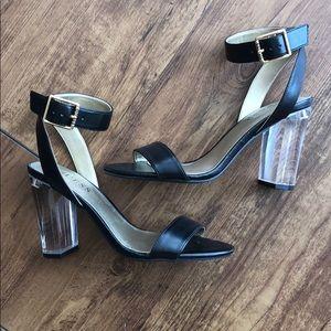 Guess Black Lucite Heels